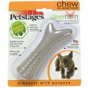 Игрушка для собак PETSTAGES Deerhorn с оленьими рогами мален...
