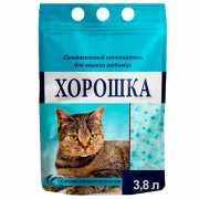 Наполнитель для кошачьего туалета ХОРОШКА силикагелевый с ар...