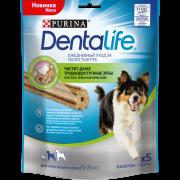 Лакомства для собак DentaLife Medium 115г