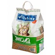 Наполнитель для кошачьего туалета VITALINE ЭКО №1 Премиум др...
