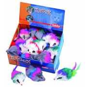 Игрушка для кошек Nobby 80121 Мышка с перьями 7,5см (36)...