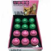 Игрушка для собак Lilli Pet Улыбающийся Мяч d=63мм (12) рези...