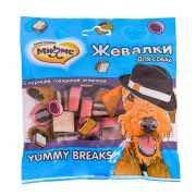 Лакомство для собак МНЯМС Жевалки Yummy Breaks с курицей, го...