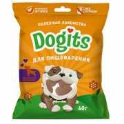 Лакомство для собак Dogits функциональное для пищеварения 60...