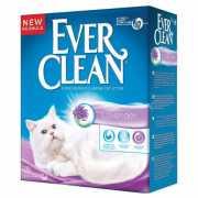 Наполнитель для кошачьего туалета EVER CLEAN Lavander комкую...