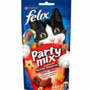 Лакомство для кошек FELIX Party mix Гриль Микс 60г...