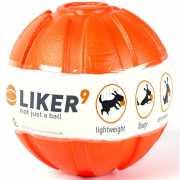 Игрушка для собак LIKER 6295 Мячик 9см, оранжевый...