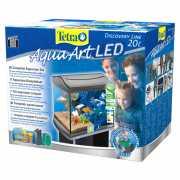 Аквариумный комплекс TETRA AquaArt LED Сrayfish с LED освеще...
