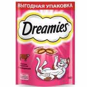 Лакомство для кошек Dreamies с говядиной 140г...