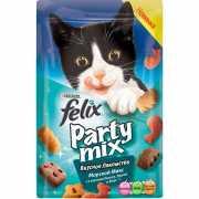 Лакомство для кошек FELIX Party mix Морской Микс 20г...