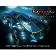 Batman: Arkham Knight - 1970s Batman Themed Batmobile Skin (...