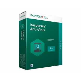 Kaspersky Anti-Virus Russian Edition. (2 ПК, 1 год)