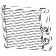 Радиатор отопителя Гранта (15-) (тип KDAC) LUZAR...
