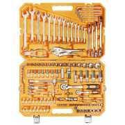 Набор инструментов универсальный 137 предметов + фонарь, пла...