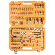 Набор инструментов универсальный 109 предметов + фонарь, пла...