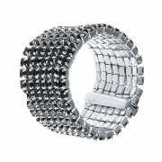 Кольцо из серебра 925 пробы с фианитами (16)...