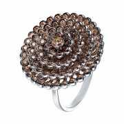 Кольцо из серебра 925 пробы с фианитами (17,75)...