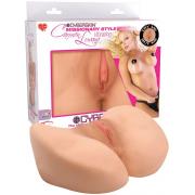 Реалистичная вагина Carmen Luvana с вибрацией...