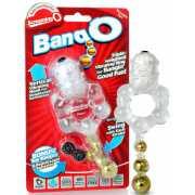 Эрекционное виброкольцо Screaming O - Bang O с тремя шарикам...