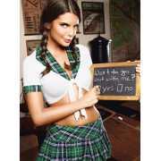Игровой костюм Школьница-Кокетка - Queen Size...