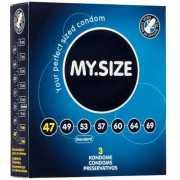 Презервативы My.Size 47 - 3 шт.