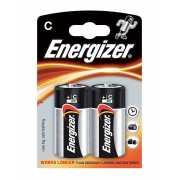 Алкалиновые батарейки Energizer C Base (PLUS) LR14 – 2 шт....