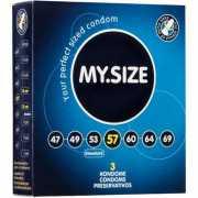 Презервативы My.Size 57 - 3 шт.