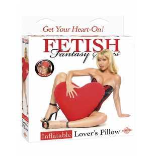 Надувная подушка в форме сердца Inflatable Lovers Pillow