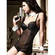 Полупрозрачное мини-платье Agent Of Love...