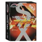 Презервативы Sagami Xtreme Energy с ароматом Red bull - 3 шт...