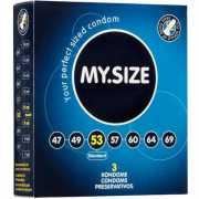 Презервативы My.Size 53 - 3 шт.