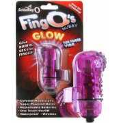 Светящийся вибростимулятор на палец Screaming O - Fing O Glo...
