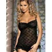 Очаровательная сорочка Caprice Romana – черный, L/XL...