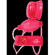 Вагинально-клиторальная помпа Pucker-up – красный...