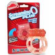 Виброкольцо на пенис Screaming O Plus утолщенное – оранжевый...
