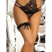 Сексуальная подвязка на ногу Bernice с бантиками...
