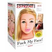 Мастурбатор Fuck My Face на присоске – блондинка...