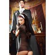 Игровой костюм Сексуальная Монашка - Queen Size...