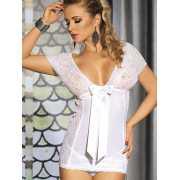 Очаровательная сорочка Caprice Eloisa – белый, L/XL...