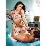 Эротический костюм медсестры Огненная Страсть - Queen Size...