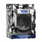 Эрекционное кольцо из металла Tom of Finland 60mm Aluminum C...