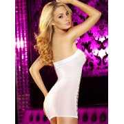 Облегающее сексапильное платье в сетку Hustler Lingerie – бе...