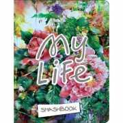 """Блокнот с наклейками """"My life"""" А5, 160 стр...."""