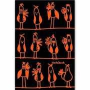"Книга для записей ""Яркие птахи"" А5, 80 листов..."
