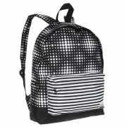 Рюкзак женский ERJBP03406-KVJ7, черно-белый, 16 л...