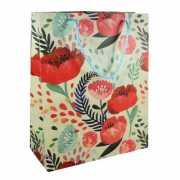 """Подарочный пакет """"Flowers"""" А4, 26 х 32 х 12 см..."""