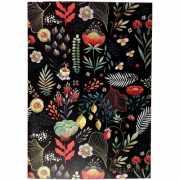 "Тетрадь ""Floral"" А4, 30 листов, в клетку, 90 г/м2..."