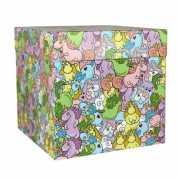 """Подарочная коробка """"Цветные единороги"""", 23 х 23 х ..."""