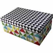 """Коробка """"Ромб"""", 11 х 18 х 28 см"""