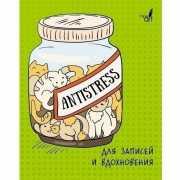 """Книга для записей """"Антистресс. Коты"""" А6, 96 листов..."""